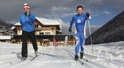 Free cross country skiing lessons
